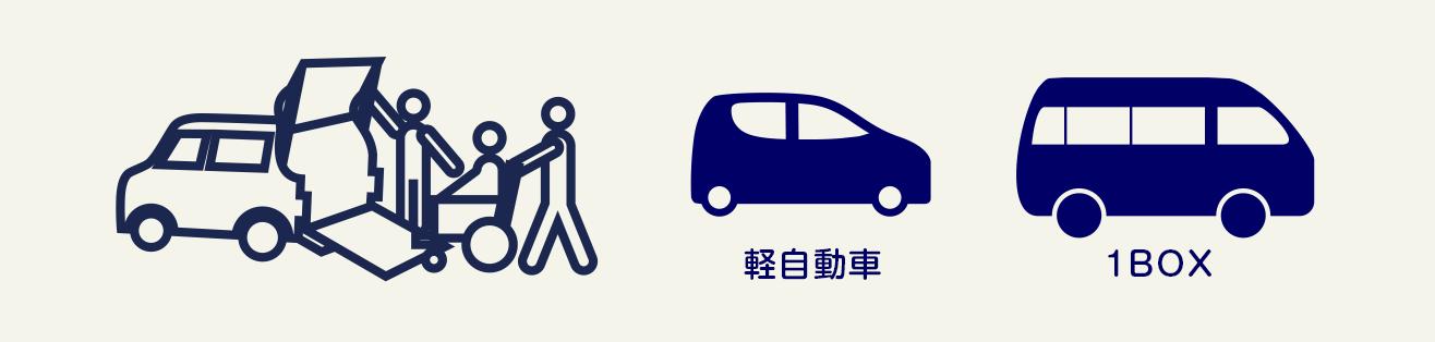 福祉車両も軽自動車~1BOXまでお任せください。